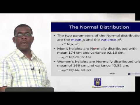 ECON 214- SESSION 7 – THE NORMAL DISTRIBUTION – PART 1