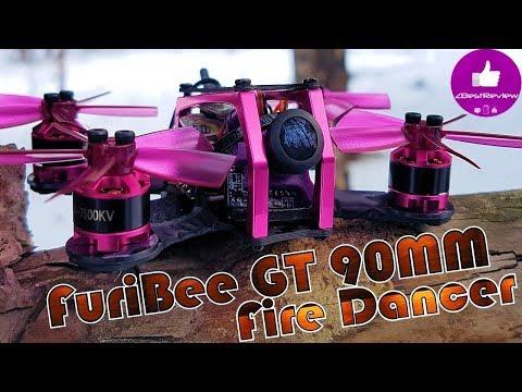 Фото ✔ FPV Микро Квадрокоптер - FuriBee GT 90mm Fire Dancer! Gearbest