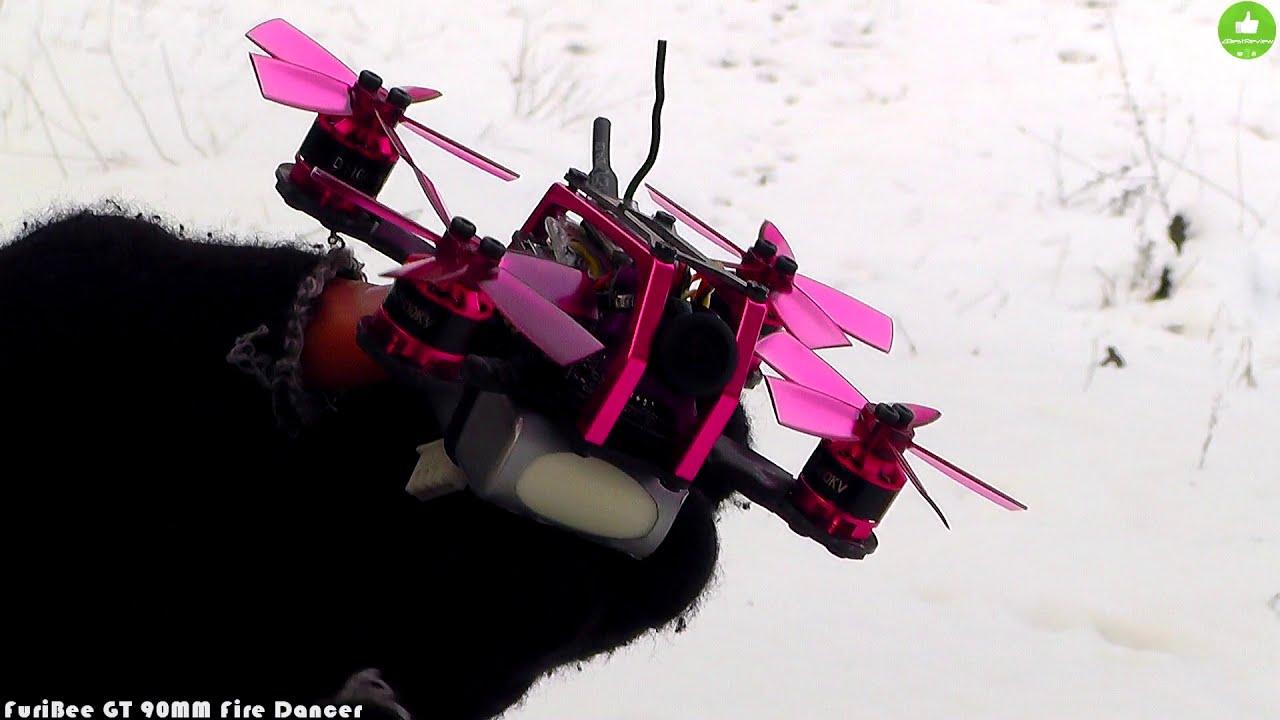 ✔ FPV Микро Квадрокоптер - FuriBee GT 90mm Fire Dancer! Gearbest фотки