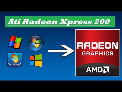 ati radeon xpress 1100 graphics driver download