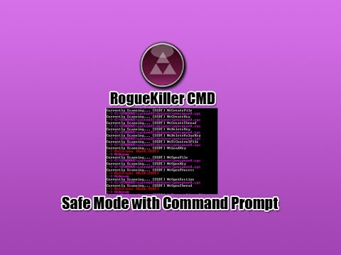 Remove Virus in Safe Mode with Command Prompt
