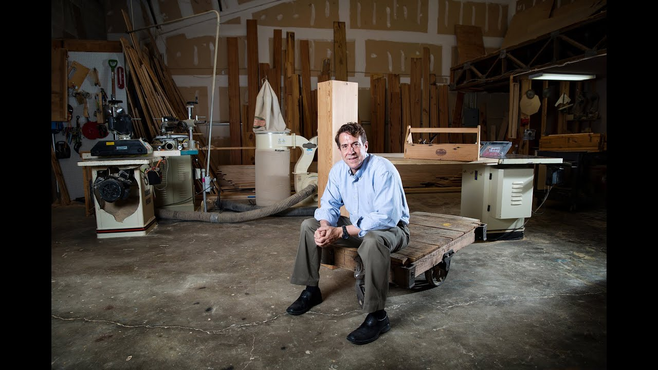 Tour The Olde Mill's reclaimed wood shop in Baton Rouge