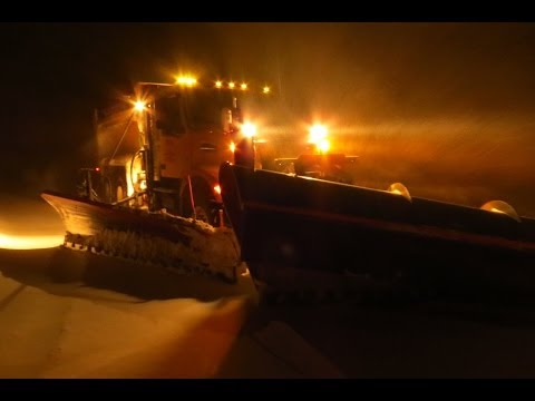 Backshift On The Snow Plow