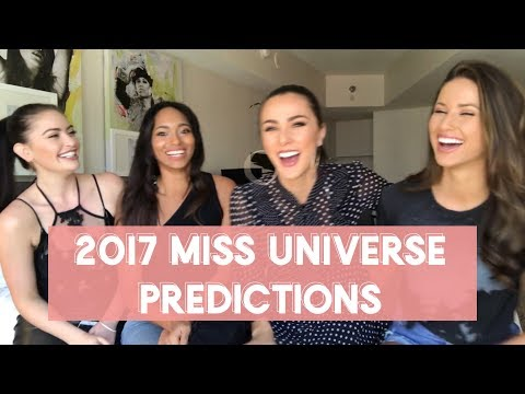 FINAL Miss Universe Predictions! By 4 Miss Universe Former Contestants - Nia Sanchez