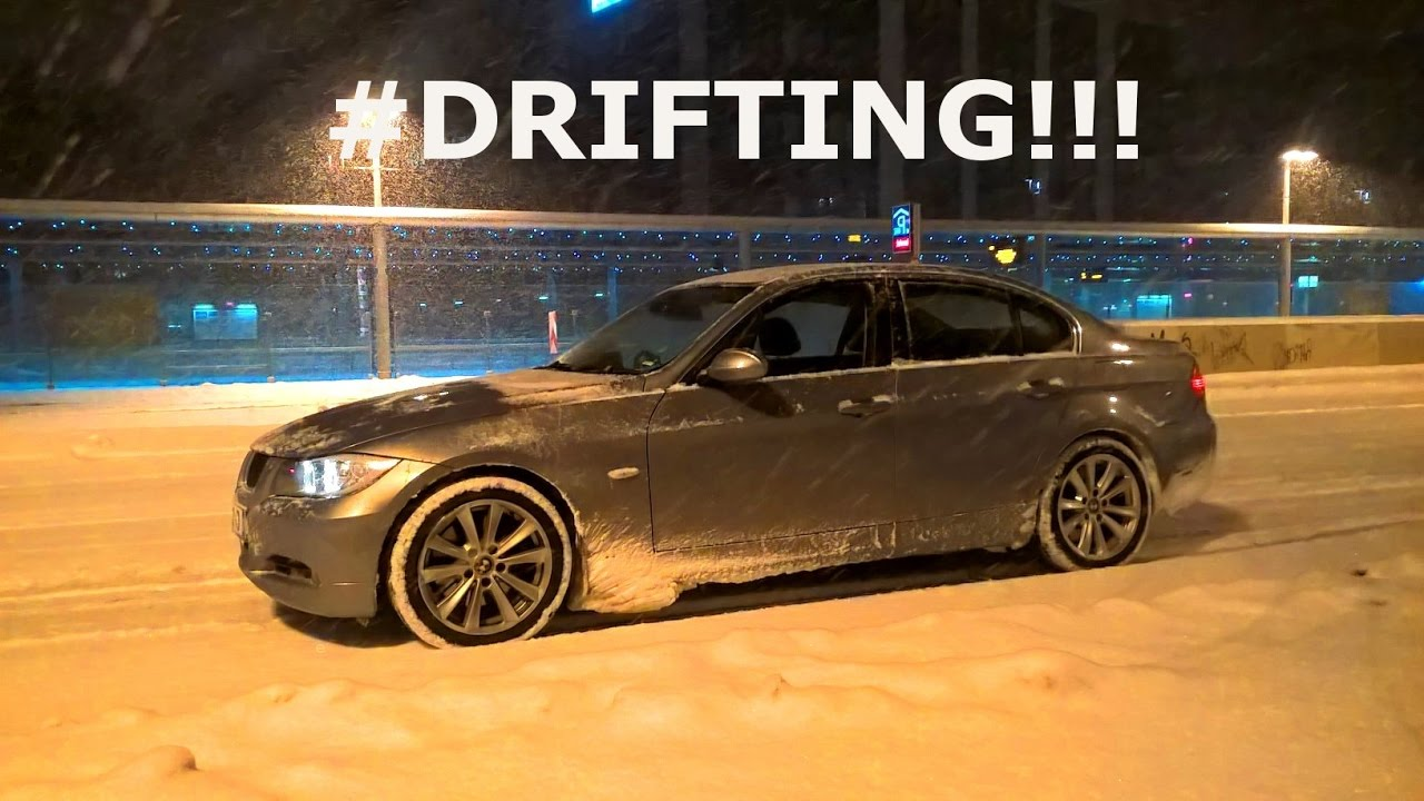 fast city drifting bmw 330i elsd snow 2017 in chemnitz youtube. Black Bedroom Furniture Sets. Home Design Ideas
