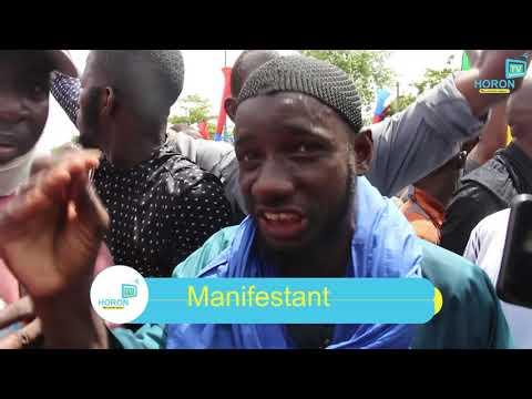 Manifestation de mécontentent contre le régime IBK à Bamako