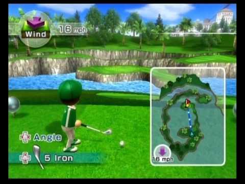 Wii sports resort golf classic 9 holes 22 theoret - Wii sports resort table tennis cheats ...