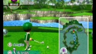 Wii Sports Resort - Golf - 18 Holes -21