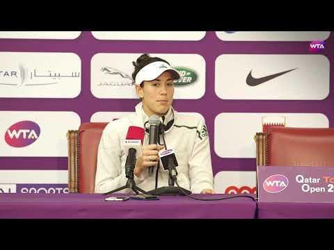 2018 Qatar Open press conference: Garbiñe Muguruza 'I'm very happy with my performance'