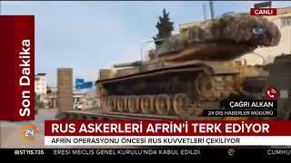 #SONDAKİKA Beklenen Afrin Operasyonu öncesi Rusya'dan Kritik Adım