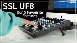 SSL UF8 | Our 5 Favourite Features | New USB DAW Control Surface from Solid State Logic