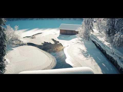 Yuneec Breeze 4K - BEST Winter FOOTAGE Toplitzsee - Grundlsee