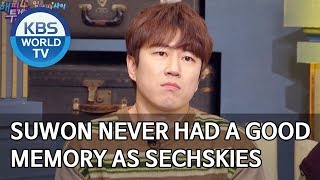Suwon never had a good memory when promoting as Sechskies [Happy Together/2020.02.13]