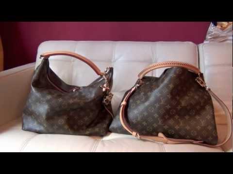 Louis Vuitton Comparison Artsy MM vs Sully MM
