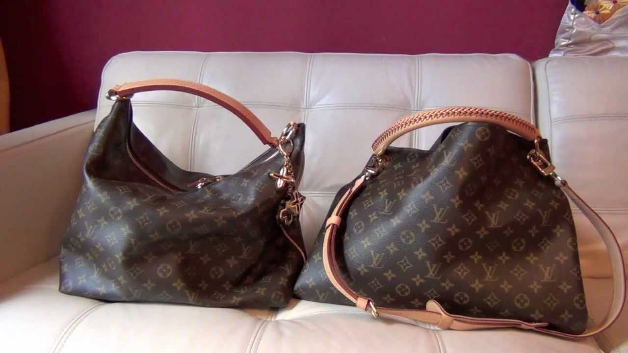 Louis Vuitton Laukku Keskustelu : Louis vuitton comparison artsy mm vs sully