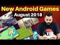 5 NEW ANDROID GAMES - August 2018 (Offline/Online) #NewAndroidGames Ep. 1