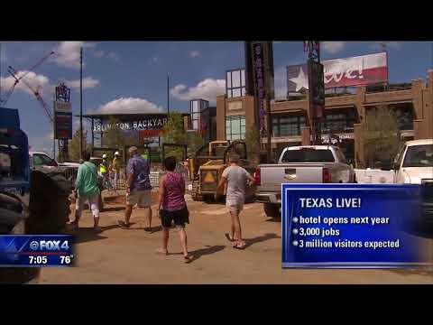 Texas Live opens in Arlington