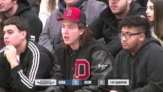 2 2 2018 Boys Basketball   Durfee vs  Brockton