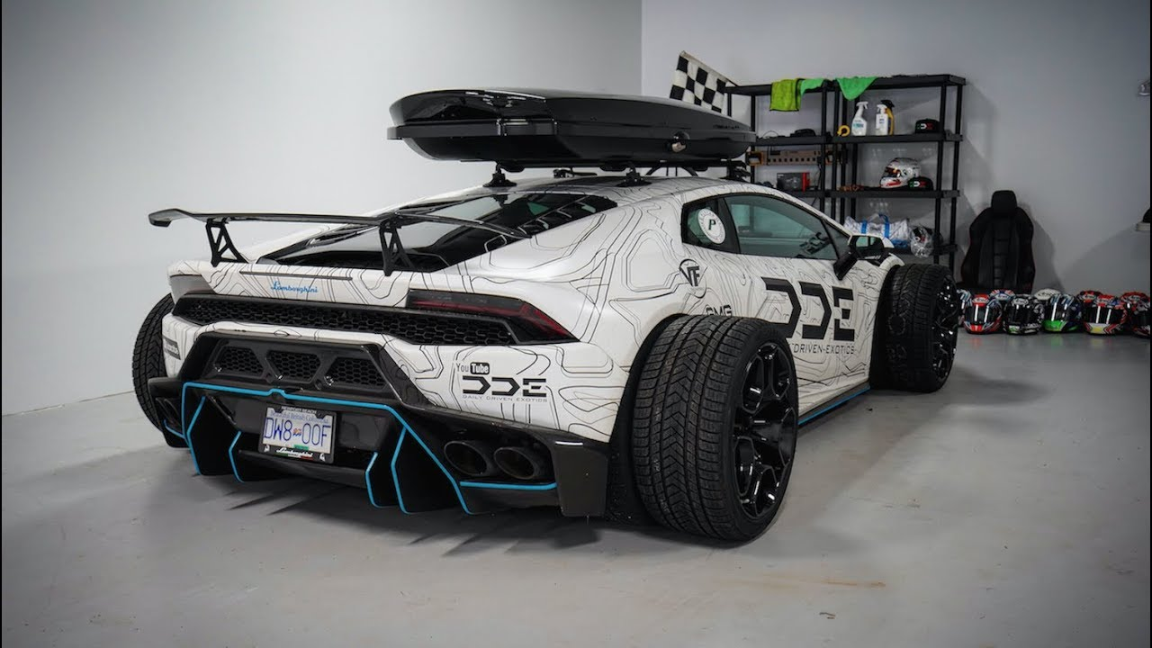 F1 Style Supercharged Lamborghini Huracan W Vf Exhaust Youtube