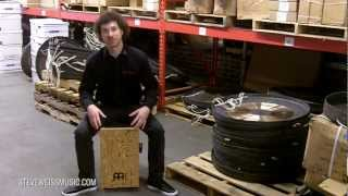Meinl Makah-Burl String Cajon Demo with Adam Anderson from Meinl