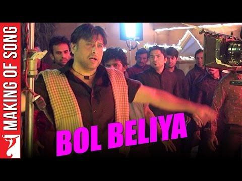 Making Of The Song - Bol Beliya | Kill Dil | Govinda | Ranveer Singh | Ali Zafar | Parineeti Chopra