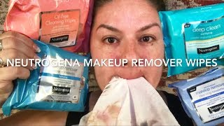 NEUTROGENA NEW MAKE-UP REMOVING WIPE REVIEW
