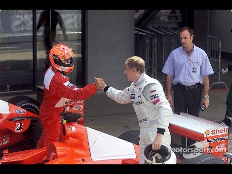 F1 Greatest Rivalries: Michael Schumacher v Mika Häkkinen