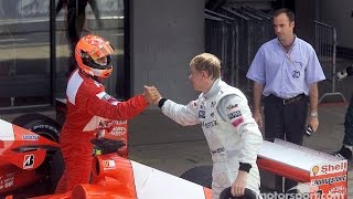 F1 Greatest Rivalries: Michael Schumacher v Mika Häkkinen