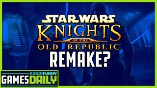 Star Wars: Knights of the Old Republic Returning? - Kinda Funny Games Daily 01.24.20