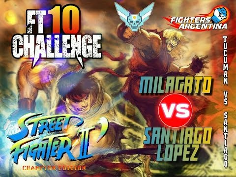 //FT10 CHALLENGE//MILAGATO VS SANTIAGO LOPEZ// - SF2CE - EN VIVO 23HS - PROTOTYPE - FIGHTCADE