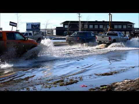 Flooding - 116 Street - Grande Prairie, AB