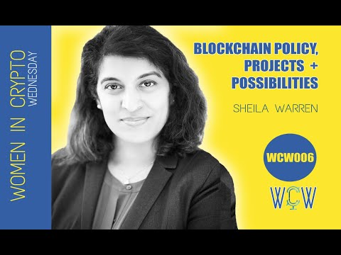SOC084. Sheila Warren, Head Of Blockchain + DLT At World Economic Forum, On Blockchain Policy,...