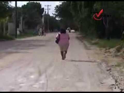 Cozumel En pésimas condiciones la Carretera de las Fincas