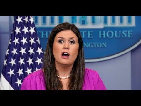 WATCH: Press Secretary Sarah Sanders URGENT White House Press Briefing