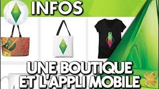 Les Sims 4 | INFO | Une boutique en ligne et un inscription pour l'appli