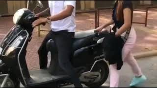 Girl Friend Bike Prank