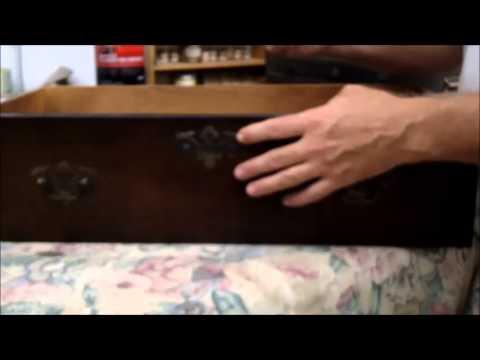 Removing Furniture Hardware Tip