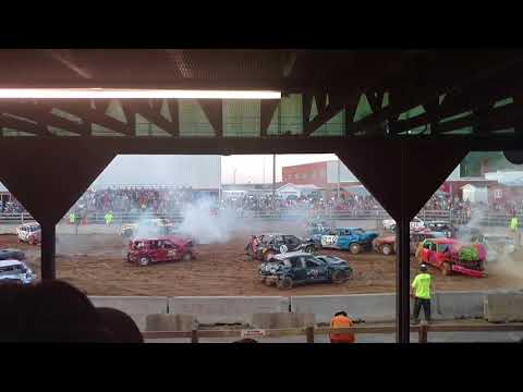 Demolition Derby at The 2017 Highland County Fair (Part # 3)