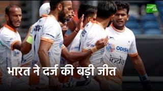 भारत ने अर्जेंटीना को 2-1 से हराया | Sports Tak