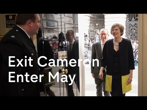 Theresa May becomes Prime Minister: David Cameron exits 10 Downing Street