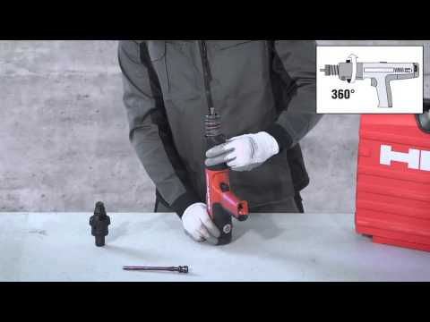 Hilti - How to replace the piston on your Hilti DX 351 (English)