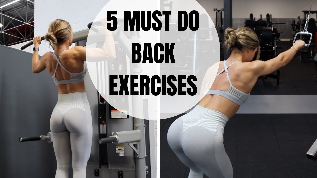 Five Back Exercises