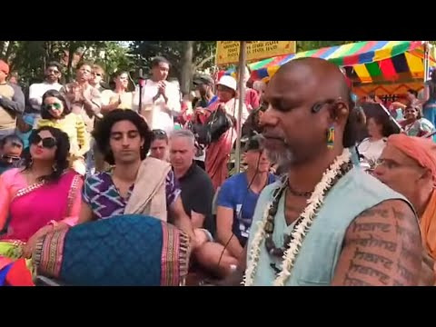 09/06/18 - New York Ratha Yatra 2018 - Madhava Prabhu