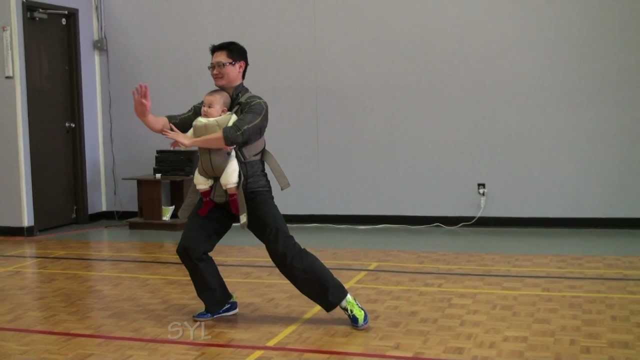 42 Taiji Quan with 6 months old baby!