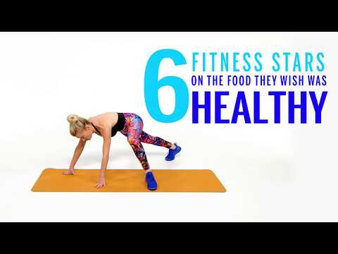 6 Fitness Stars on The Food They Wish Was Healthy | Health