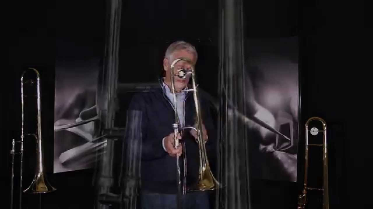 King 3B Trombone with Mike Innes at Dawkes Music