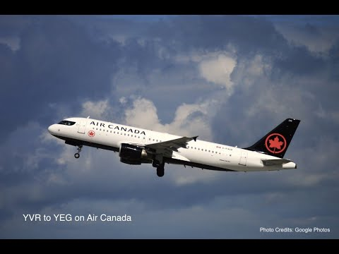 Trip Report | Vancouver To Edmonton | YVR To YEG | AC250 On Air Canada | Business | Airbus A320