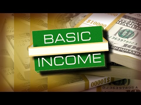 Why are we getting a basic income?