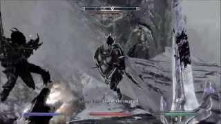skyrim: Killing the ebony warrior on legendary (no cheats, xbox360)