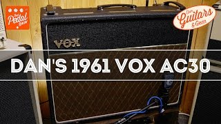 that pedal show our guitars gear dan s 1961 vox ac30